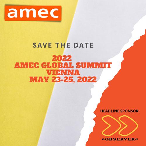 AMEC Global Summit on Measurement 2022