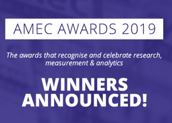 AMEC Awards 2019 Winners