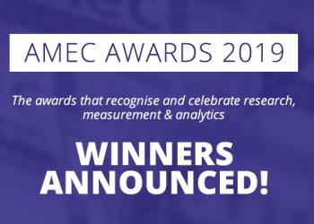 AMEC Awards 2019 Winners