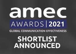 AMEC Awards 2021 Shortlist Announced