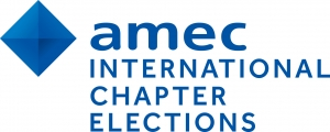 AMEC International Chapter Elections logo