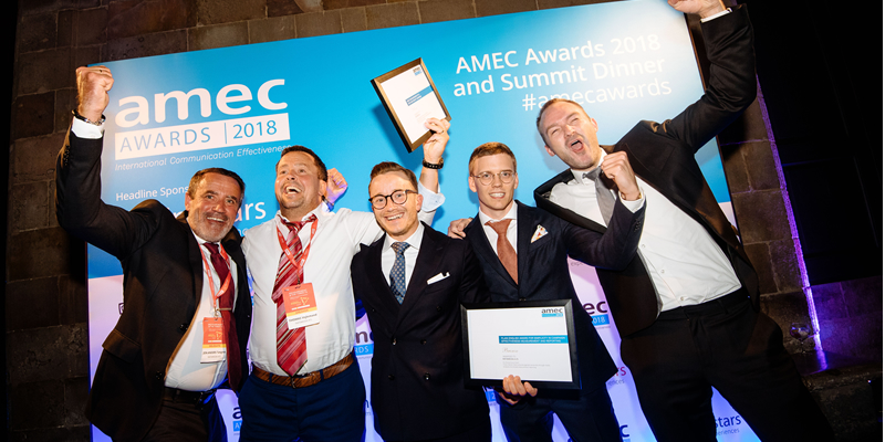 Celebrate AMEC Awards 2019