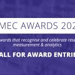 AMEC Awards 2020 Call for Award Entries