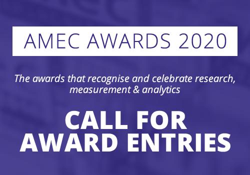 AMEC Awards 2020 Call for Entries