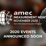 AMEC Measurement Month Announced soon