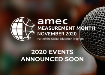 AMEC Measurement Month Announced soon