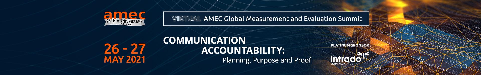 AMEC Summit 2021